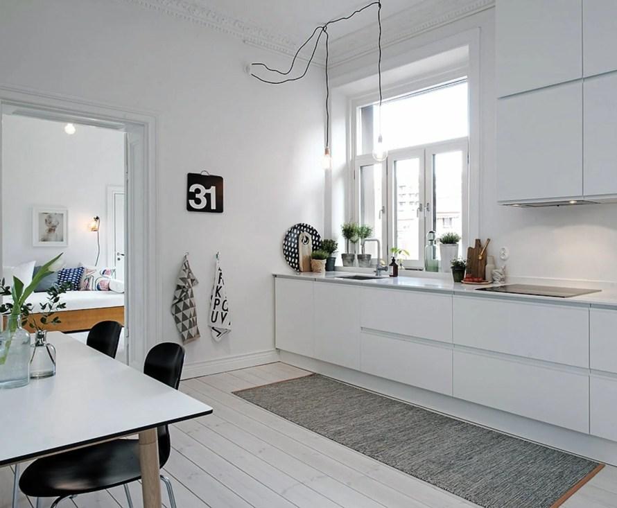 nordicdays cozy rug kitchen