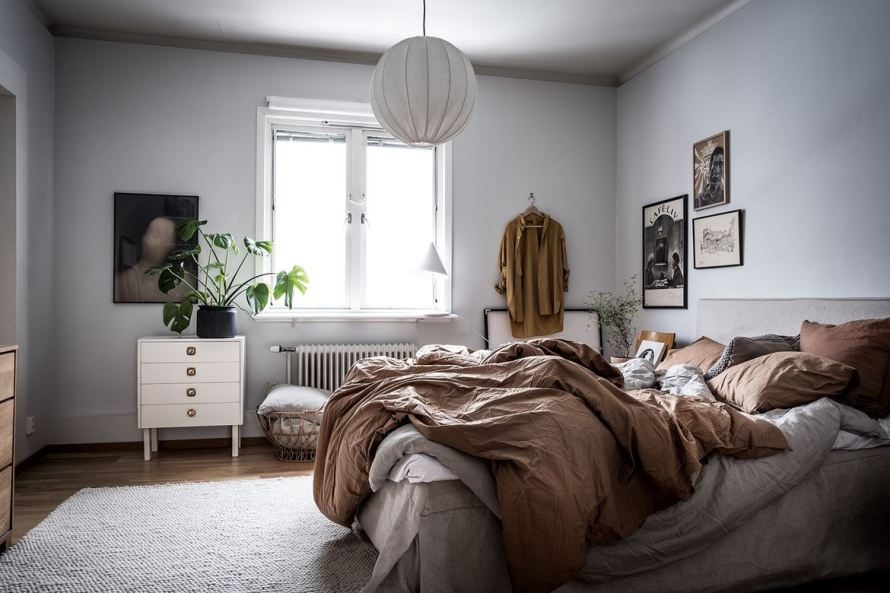 charming home sweden bedroom