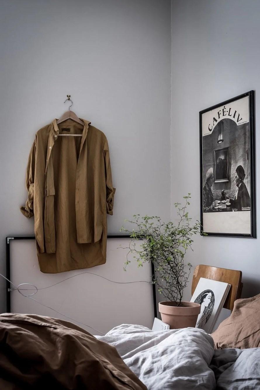 charming home sweden bedroom details