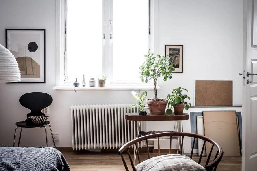 charming home sweden livingroom details