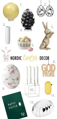 scandinavian easter decor products