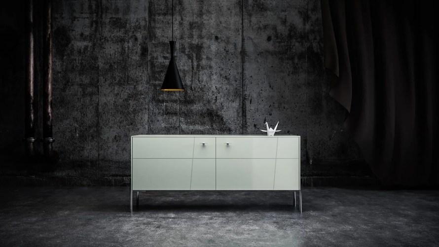 ikea norse cabinet scandinavian home mint