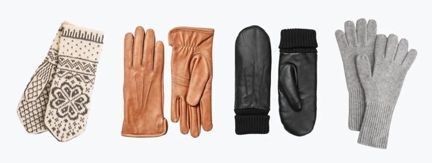 scandinavian glove autumn winter essentials
