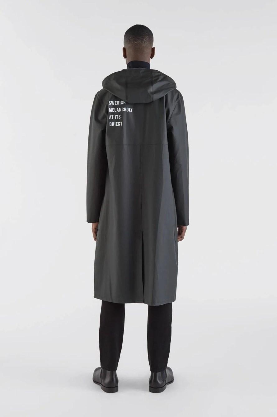 scandinavian rain coat autumn winter