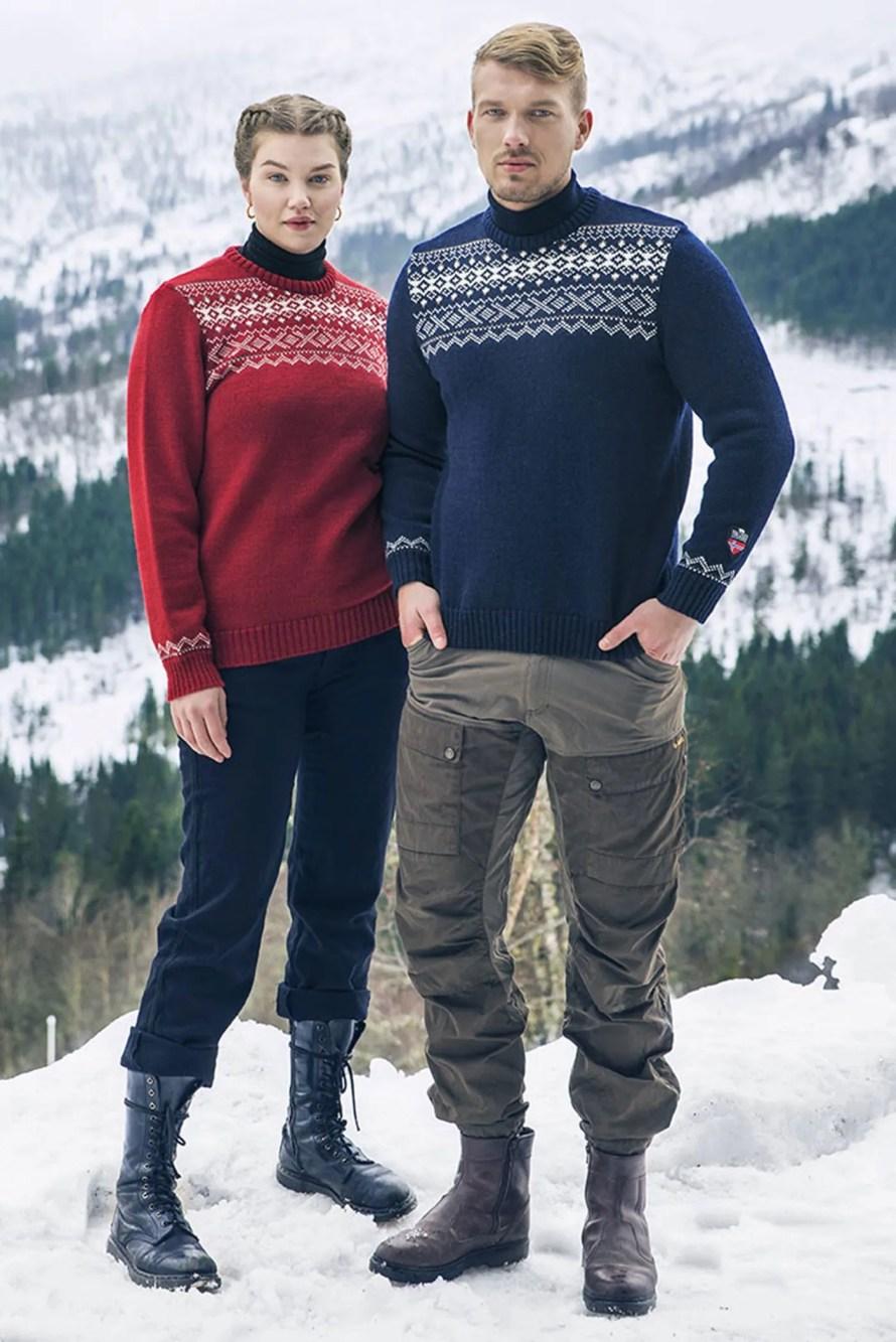 scandinavian sweater norwegian winter