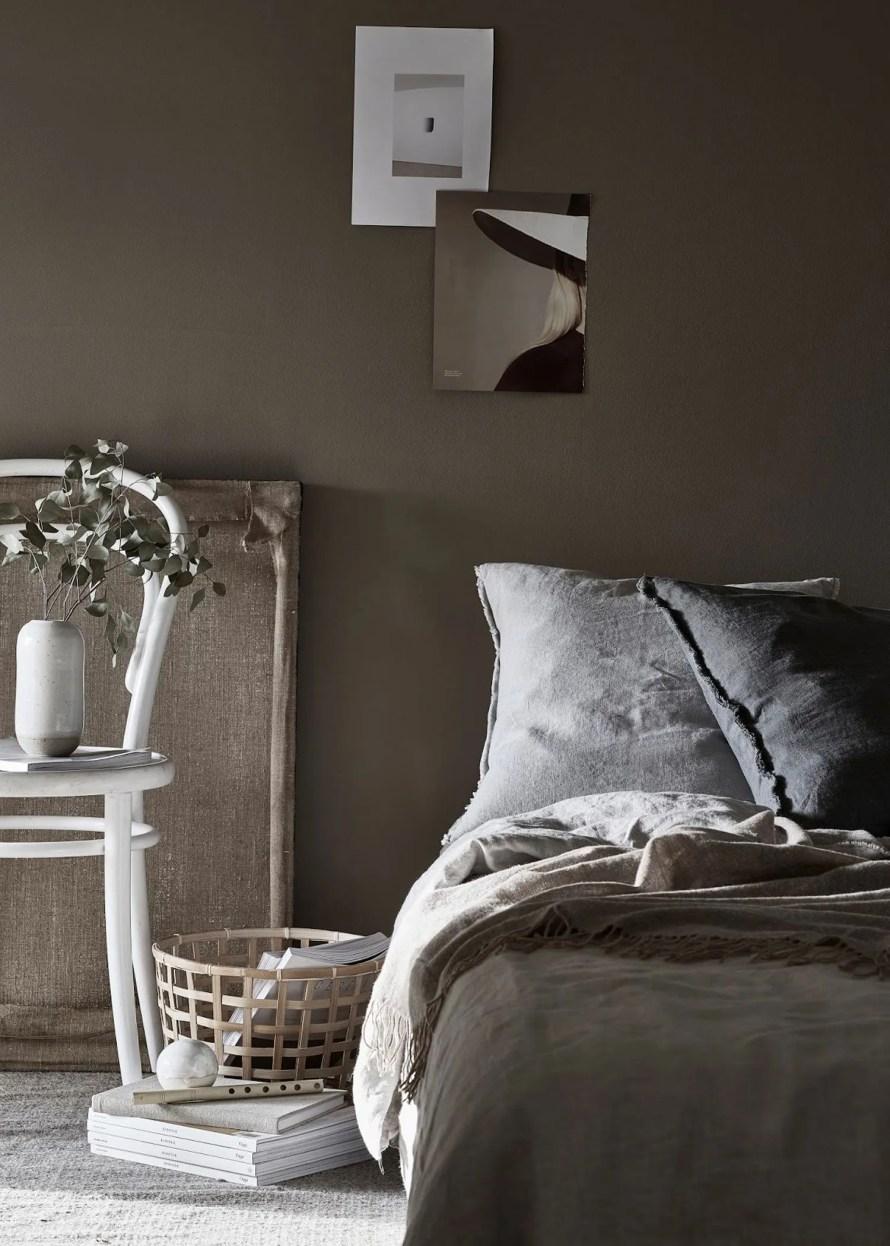 bedroom cozy linen