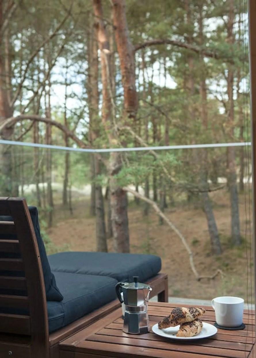 scandinavian apartment lithuania airbnb balcony