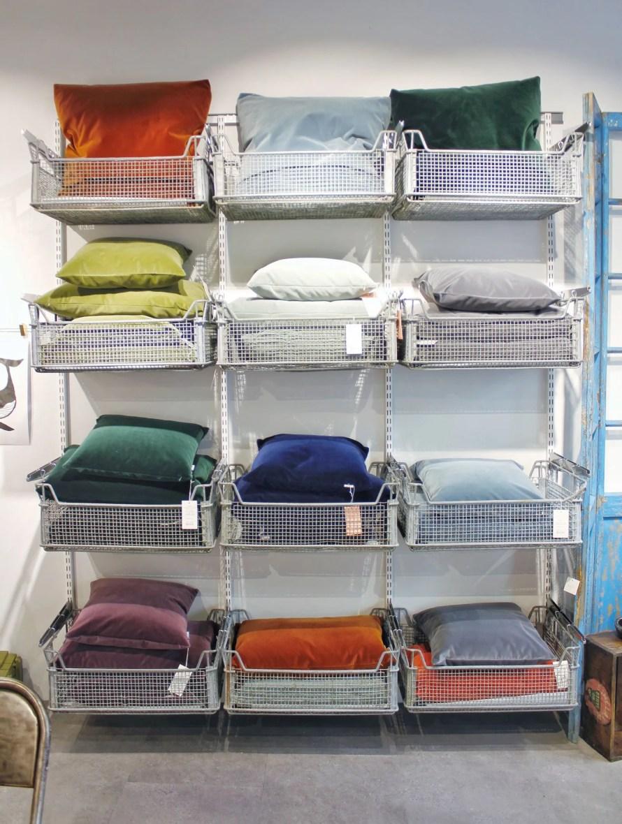 byBrun pillows store interior sandnes