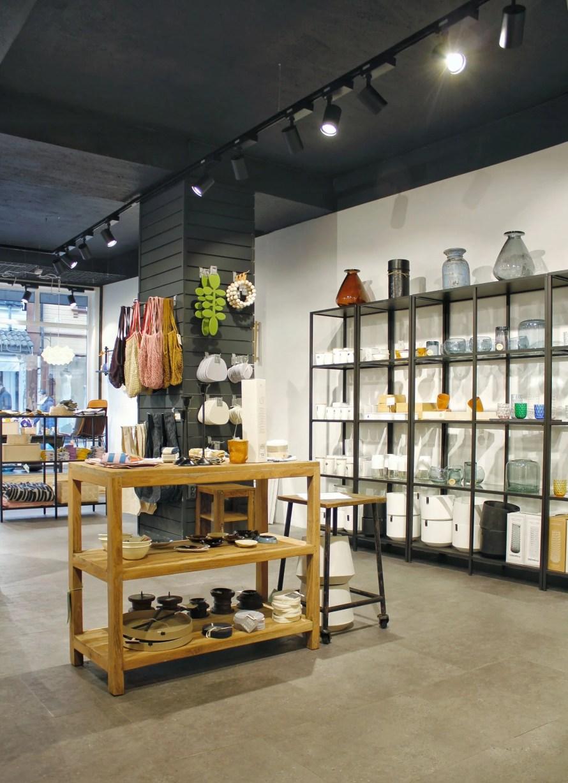 byBrun shelves store interior sandnes
