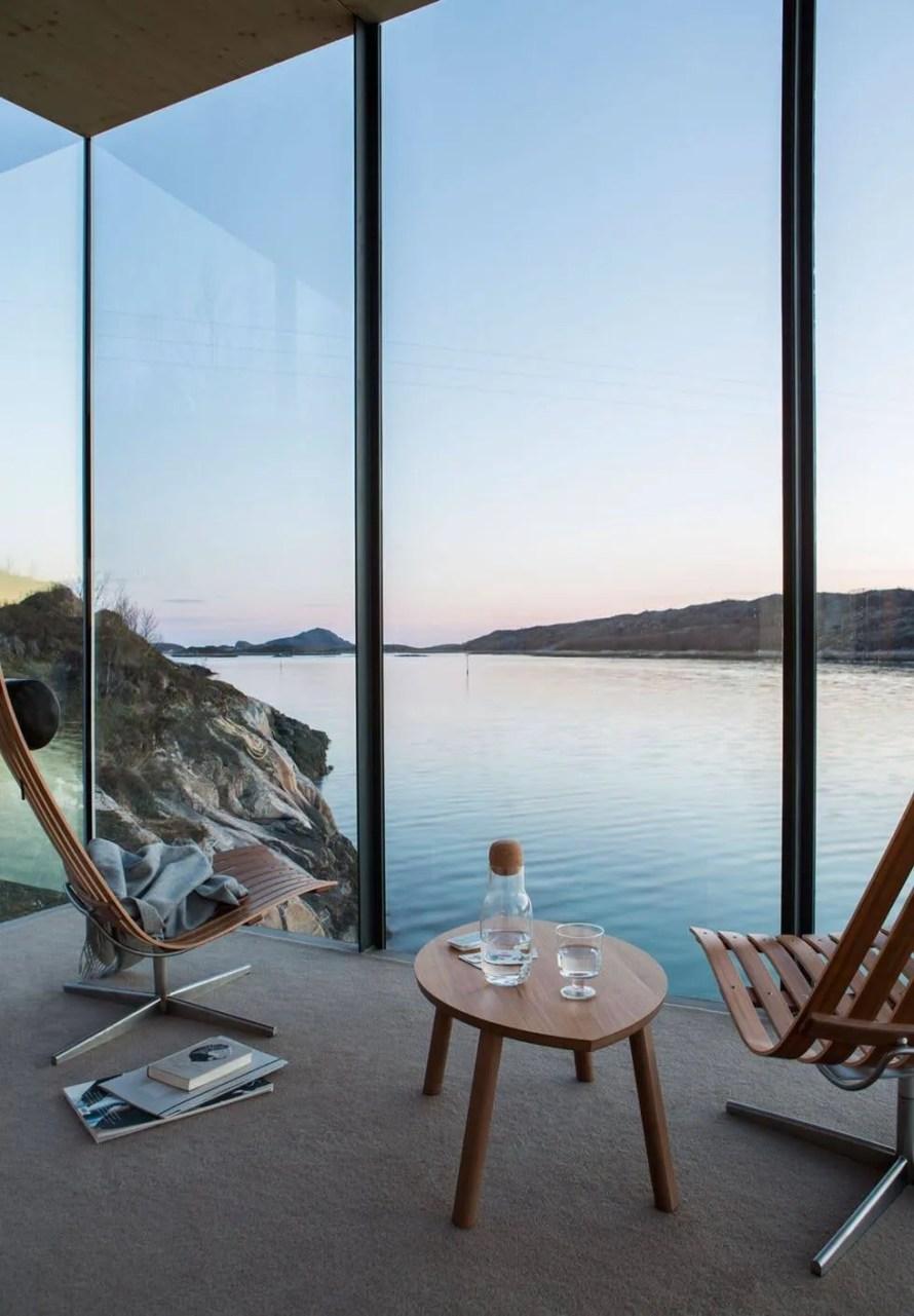 amazing norway travel cabin manshausen interior