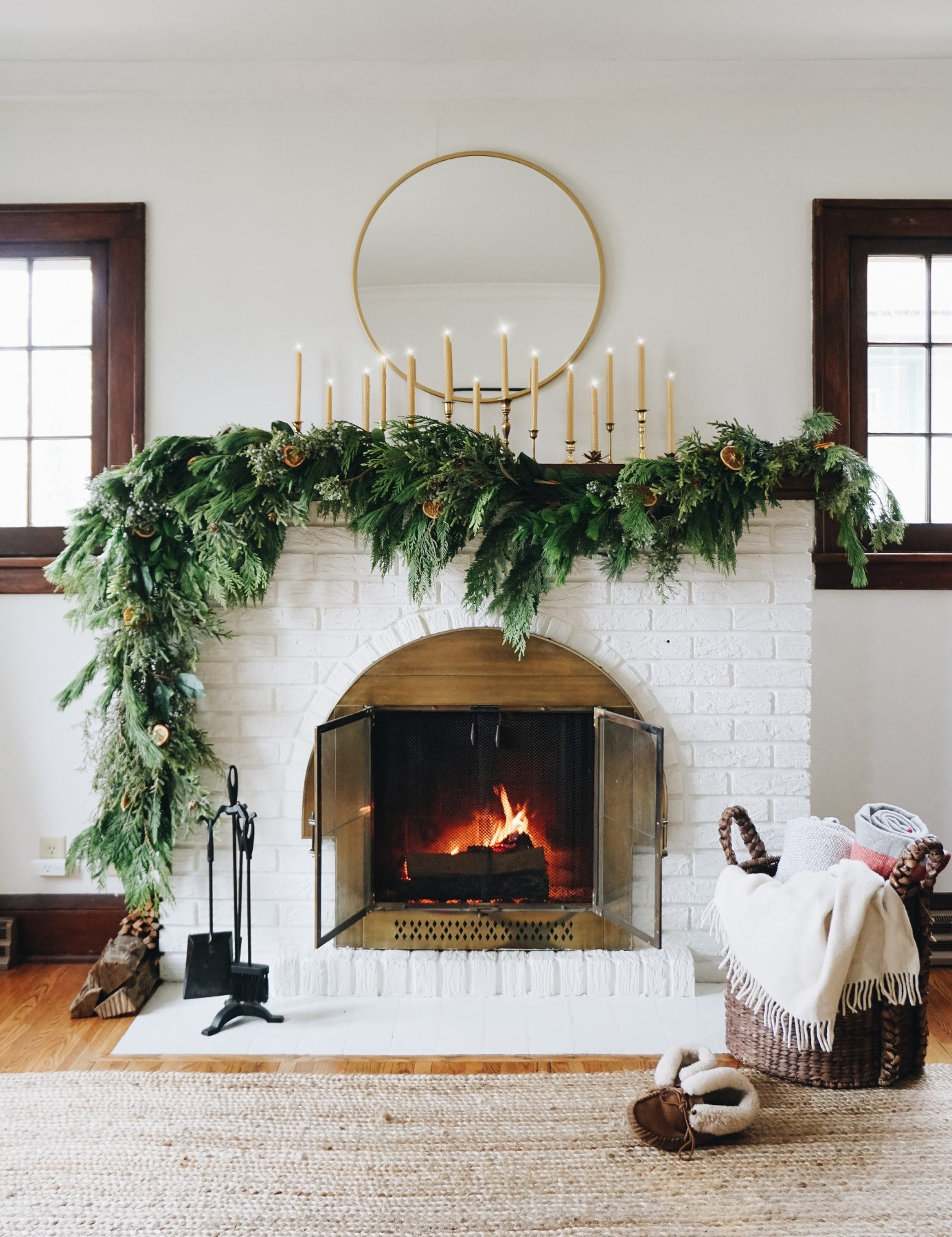 Sustainable Natural Christmas Decorations For A Hygge Home