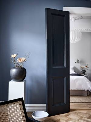 scandinavian feeling blue interior cocolapine 3