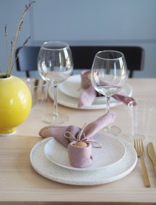 Scandinavianfeeling Easter DIY table decor 1