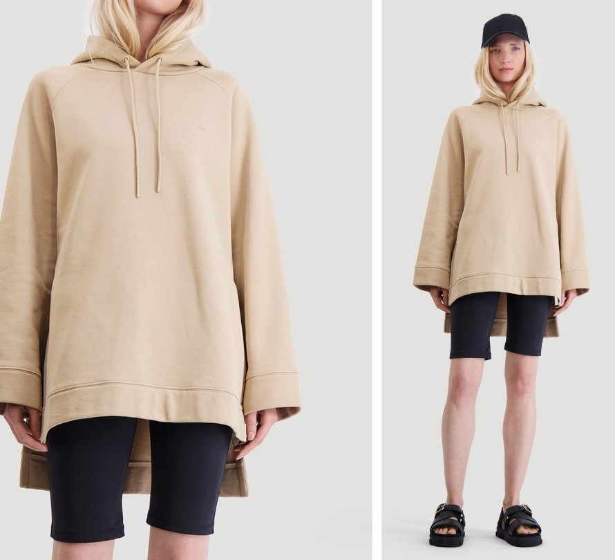 holzweiler loungewear sporty hoodie outfit