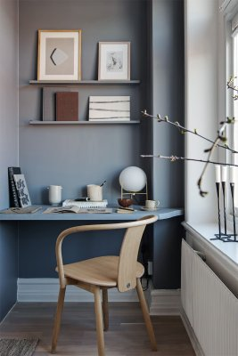 that scandinavian feeling office home blue shelf scaled