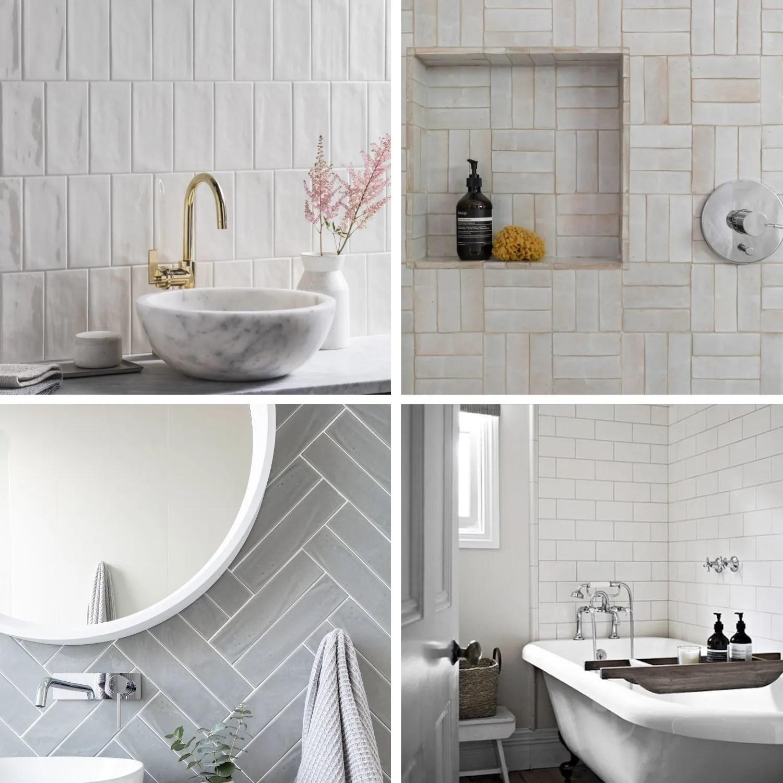choosing subway tile designs for bathroom
