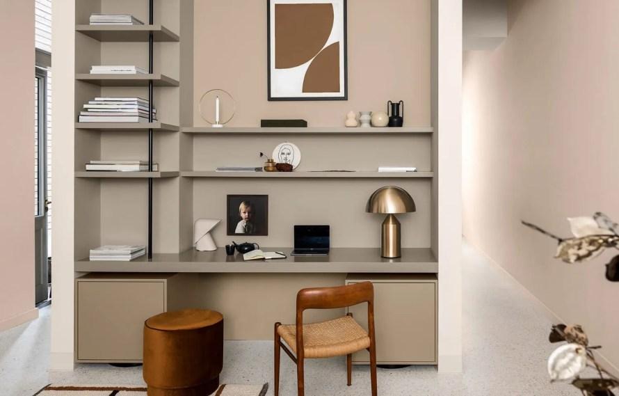 brave ground dulux colour year 2021 interior desk