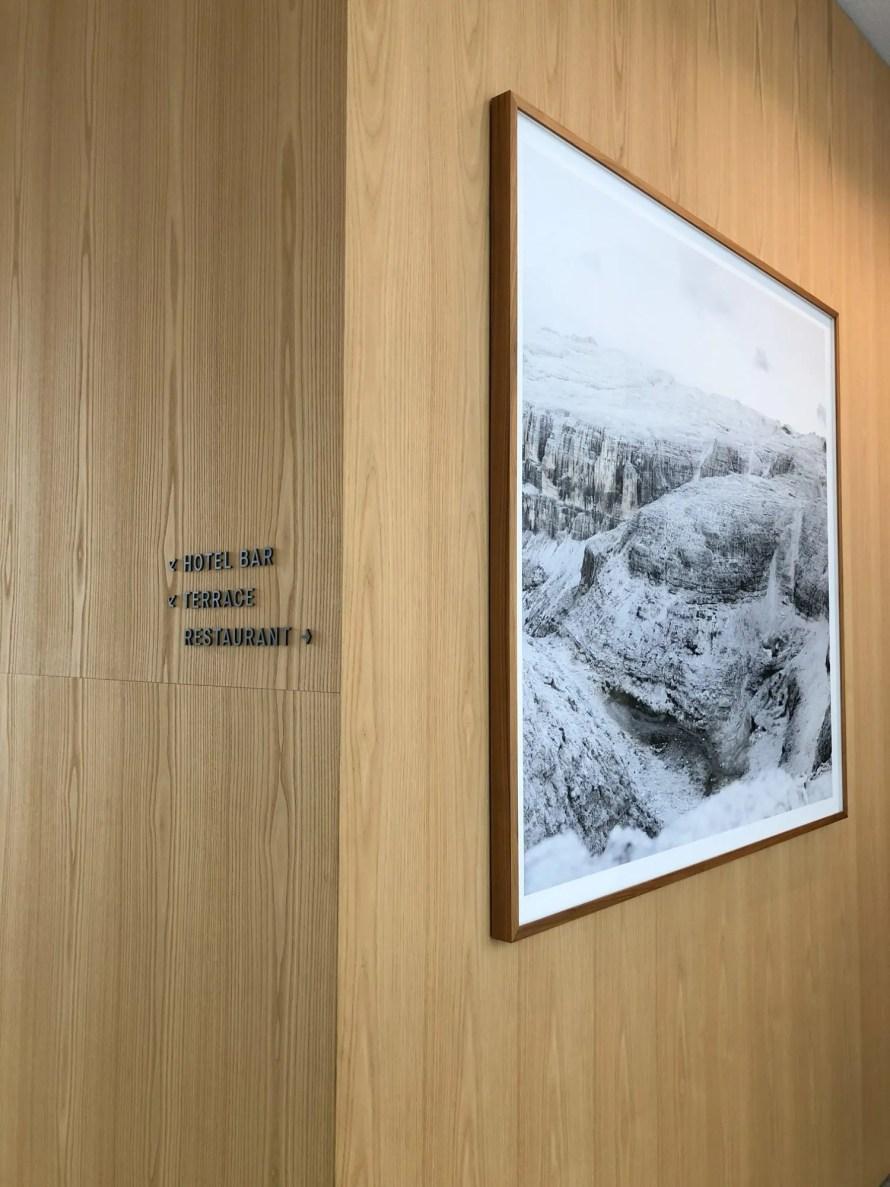 scandinavian design hotel dolomites italy details