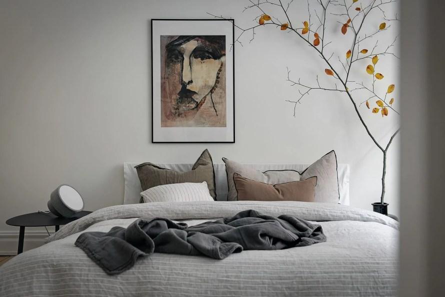 scandinavian feeling bedroom cozy hygge autumnal 2