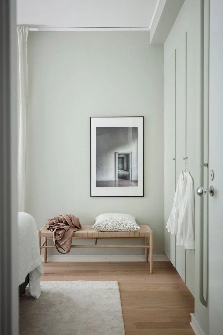 scandinavian feeling bedroom cozy hygge mint 2