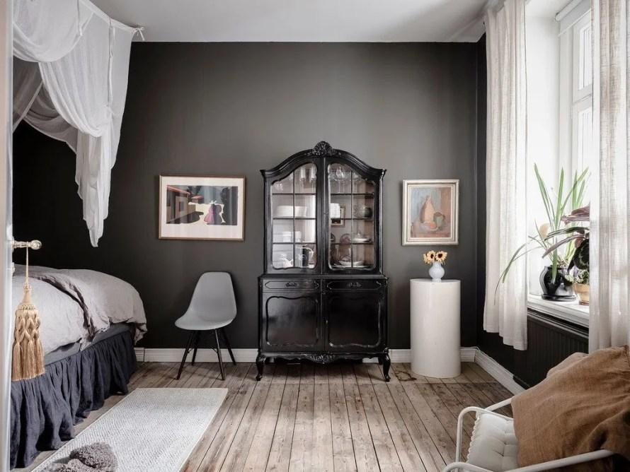 scandinavian feeling cozy bedroom cozy dark 2