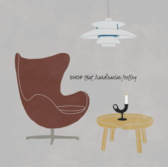 shop that scandinavian feeling illustration
