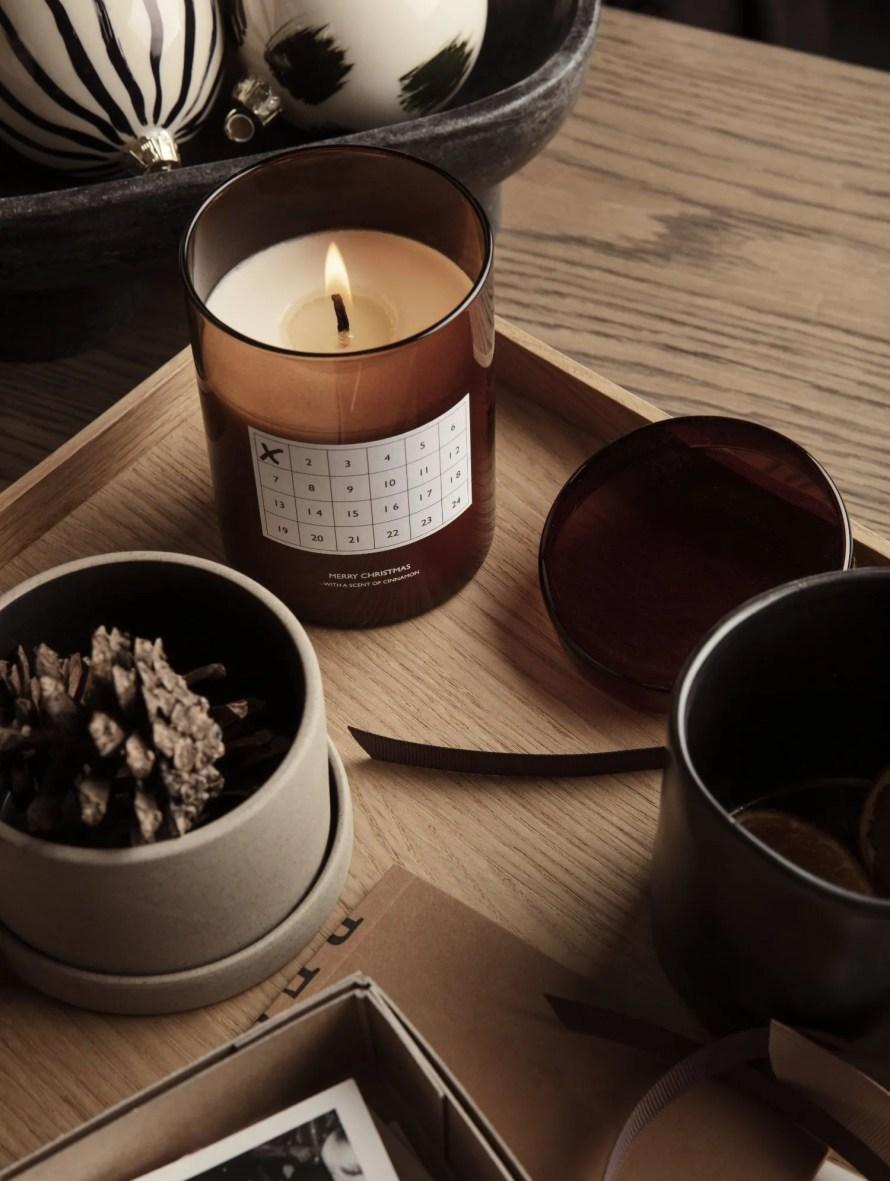 that scandinavian feeling christmas advent candle nordic decor