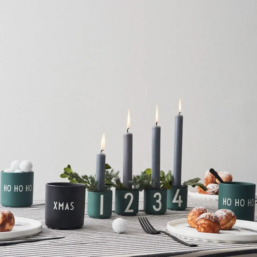 that scandinavian feeling christmas advent candleholder nordic decor