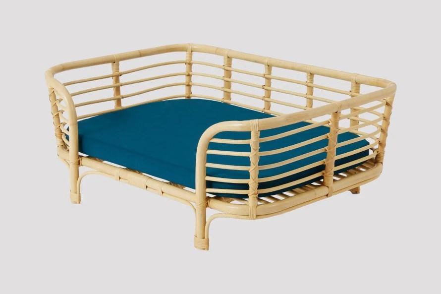 that scandinavian feeling pet furniture nordic bed rattan