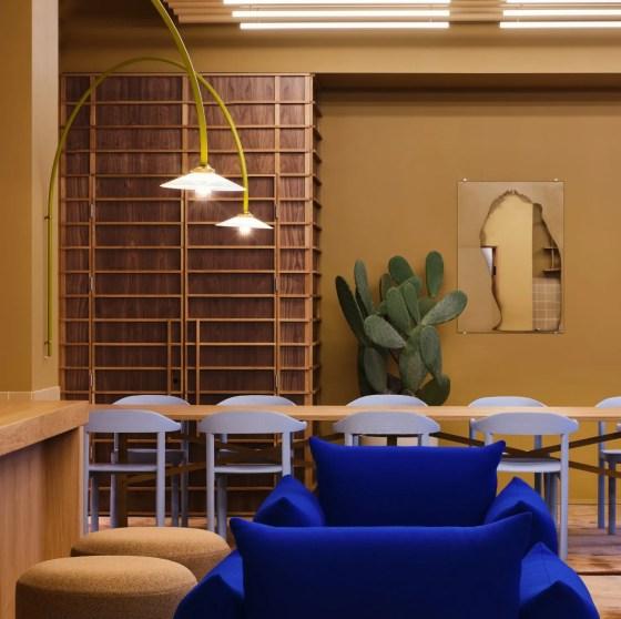 scandinavian feeling note design studio office colourful interior 1