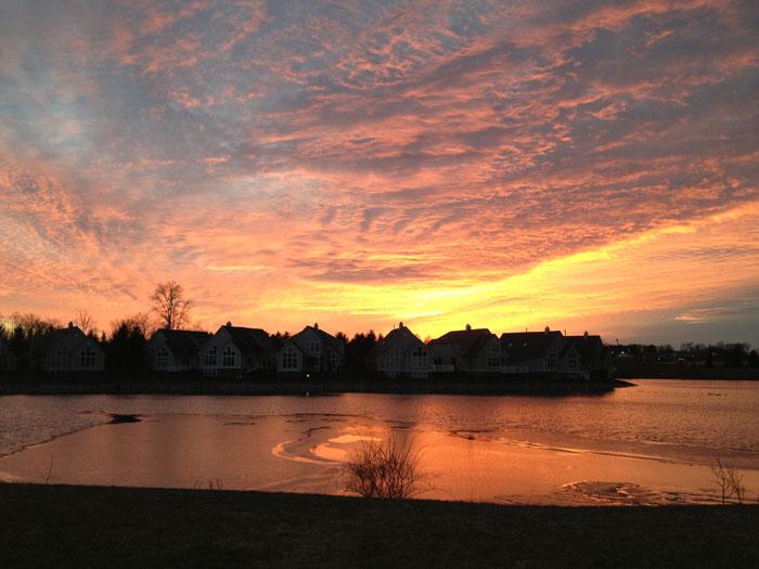 Sunset Over Twinsburg