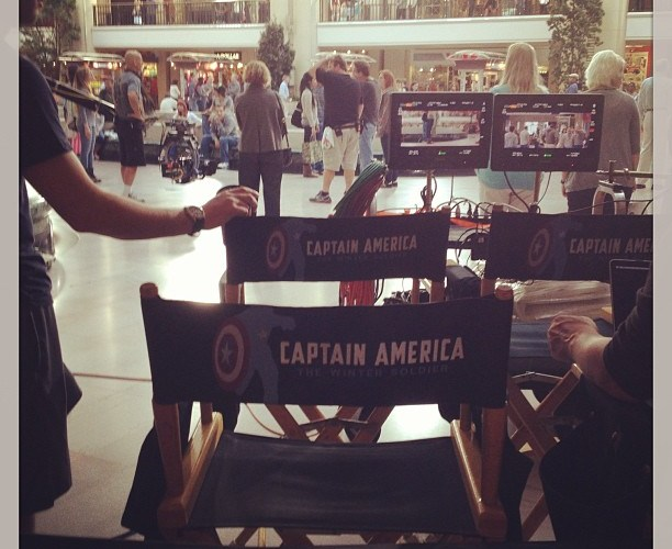 Captain America Filming In Tower City