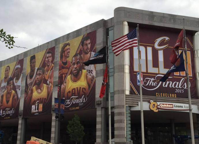 All In Quicken Loans Arena