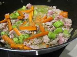 Blanquette de veau dans le pot