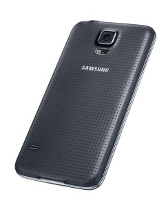 Samsung Galaxy S5 Black (rear)