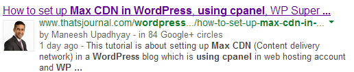 Enable Google Authorship, Rel=Author Markup In WordPress