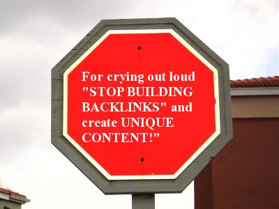 Off Page Optimization And Building Backlinks Is Not Required