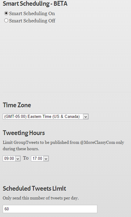 Automatically schedule tweets from contributors in GroupTweet