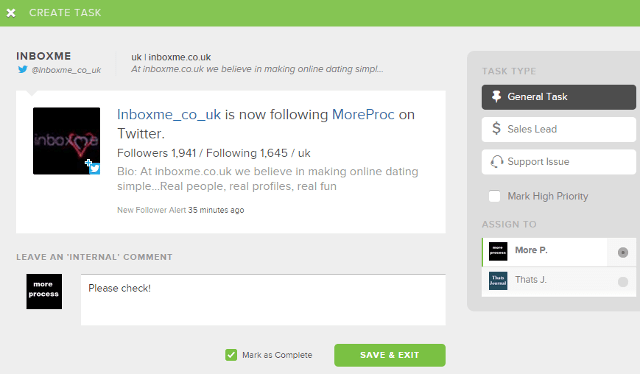 Create and assign tasks to your team members in Sprout Social
