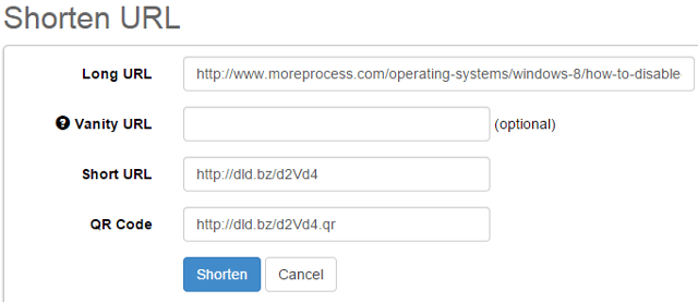 Shorten long URL and generate QR codes in SocialOomph