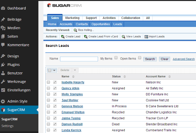 Best WooCommerce WordPress Plugin to Add SugarCRM