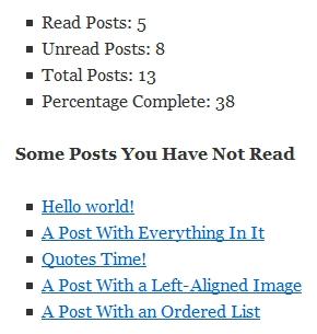 Best WordPress Plugin To Let Readers Mark Posts As Read