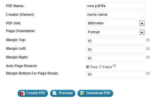 Change PDF file settings in WordPress blog