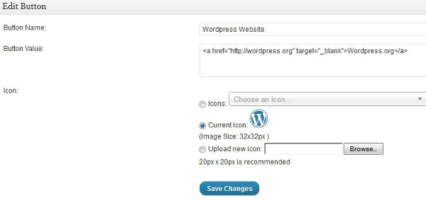 Create custom button for WordPress visual editor