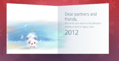 Add Christmas, Holiday Greeting Card With Music In WordPress