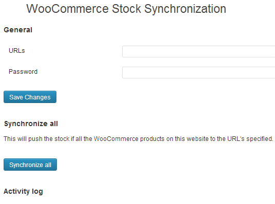 Auto sync available products in multiple WooCommerce sites