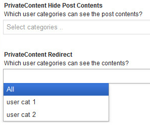 Hide Content In Posts, Pages, Categories, Menus In WordPress