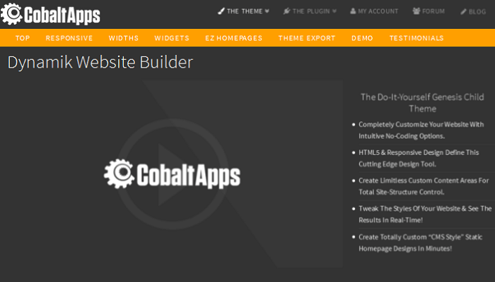 Dynamik Website Builder