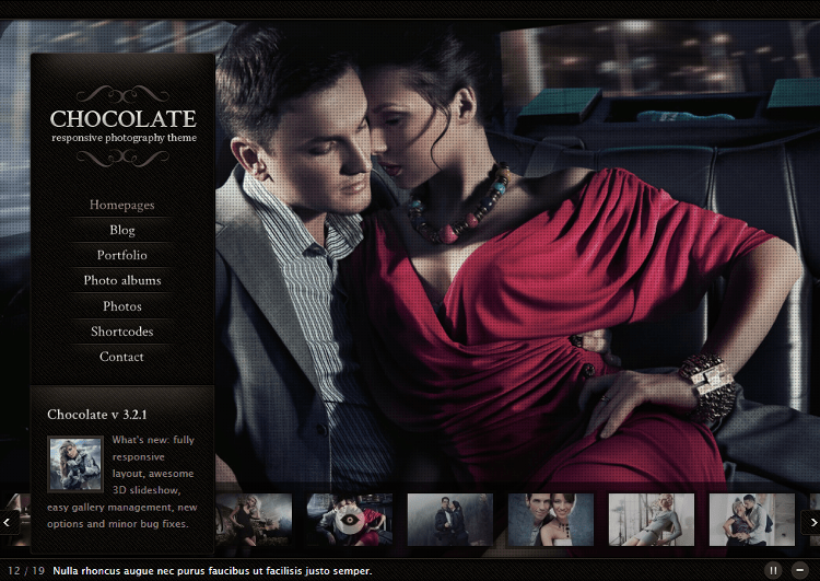 Chocolate WP WordPress Theme