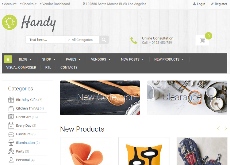 Handy WordPress Theme